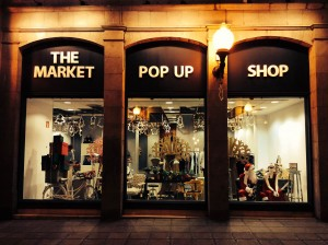 Entrada a The Market POP UP Store