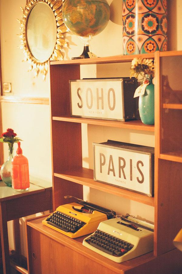 Carteles Soho y Paris Maison Polonium