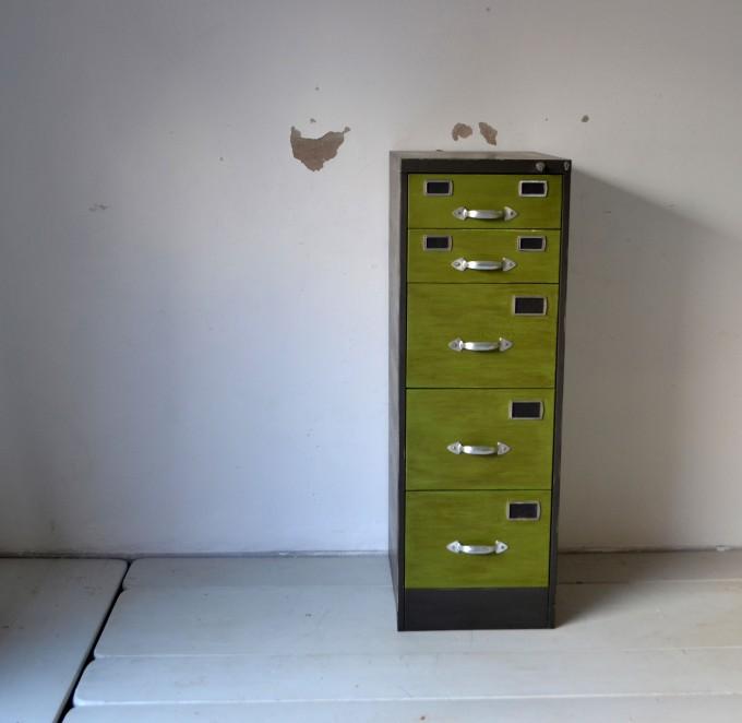 archivador reindustrializado vista frente