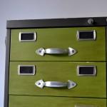 archivador reindustrializado cajón superior