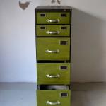 archivador reindustrializado vista frente abierto