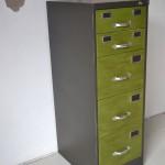 archivador reindustrializado vista lateral