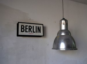 Carte Berlín vista cerca