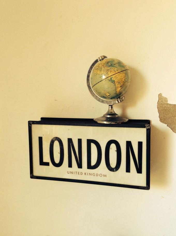 Cartel de LONDON de cerca