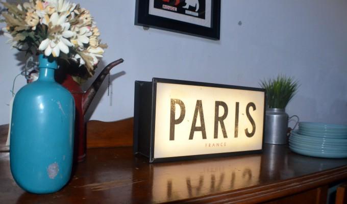 Cartel de PARÍS vista de cerca foto 2