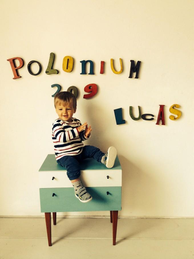 Letras de POLONIUM 209 y LUCAS