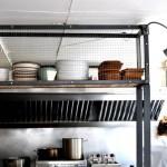 Cocina en Restaurante Triciclo
