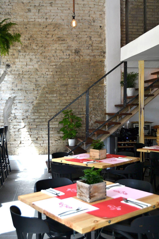 Interior del restaurante Triciclo