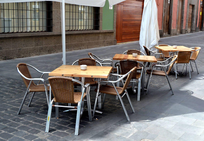 Terraza del restaurante Triciclo