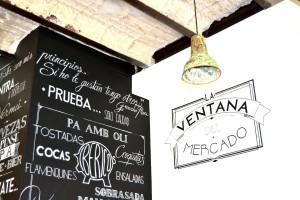 Ventana mercado - Titutlo