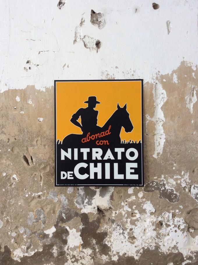 Cartel NITRATO DE CHILE
