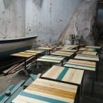 mesas industriales taller