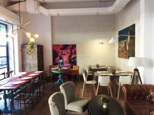 mesa restaurante Monoculo
