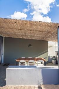 mesa industrial terraza