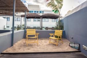 playa en terraza