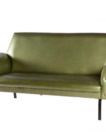 sillon vintage verde