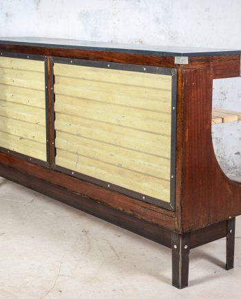 mostrador bar madera