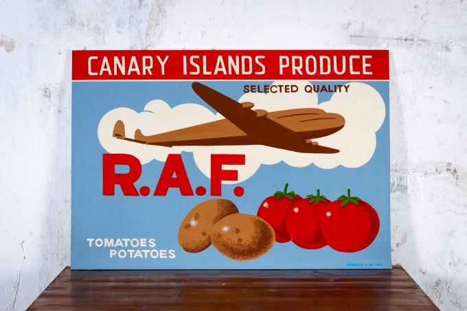 REPRODUCCIÓN CARTEL TOMATES RAF