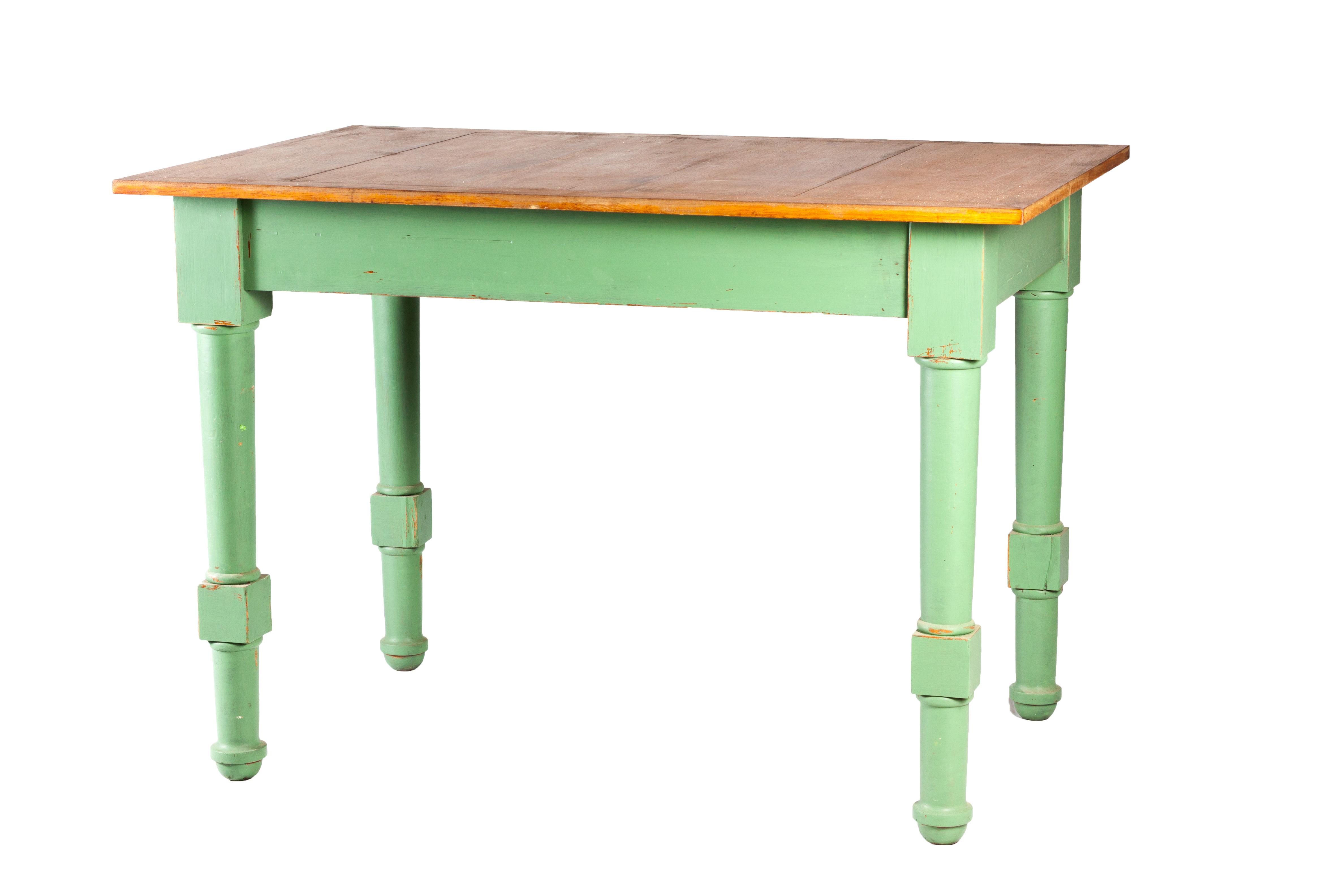 Mesa de cocina recuperada polonium 209 - Mesa cocina vintage ...