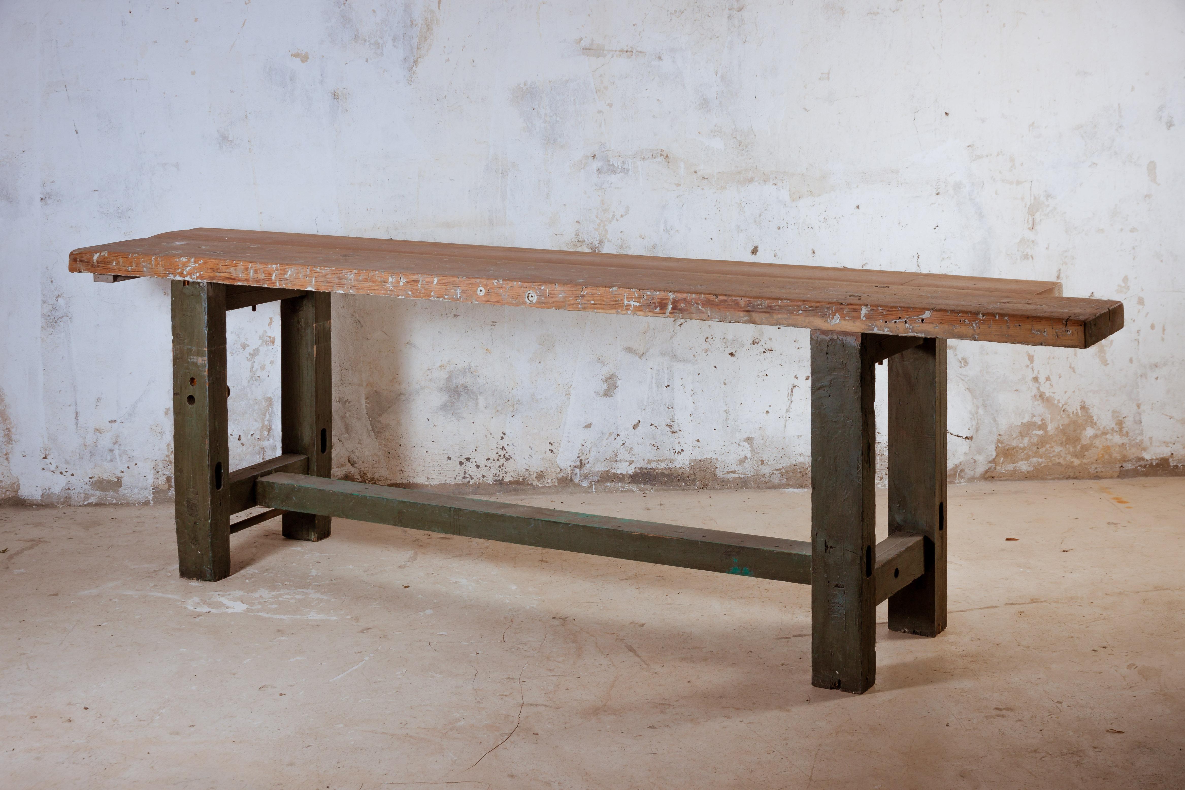 Mesa de carpintero recuperada polonium 209 for Mesa de carpintero