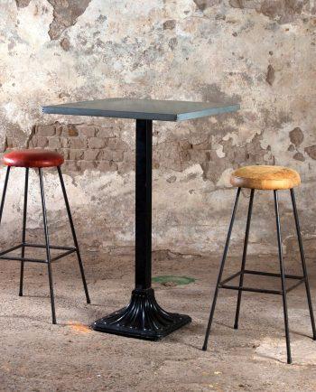 mesa alta bar zinc